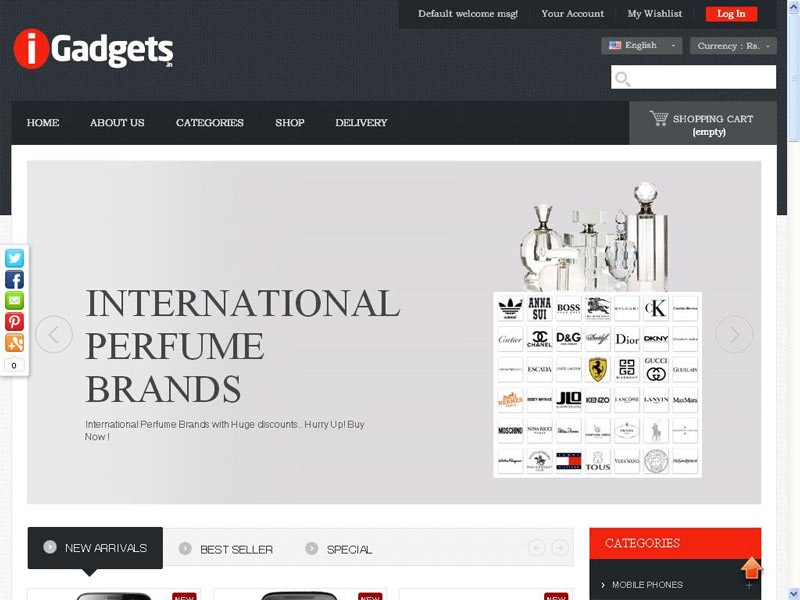 IGADGETS : THE BEST E-COMMERCE WEBSITE DESIGNING COMPANY IN PUNE, INDIA